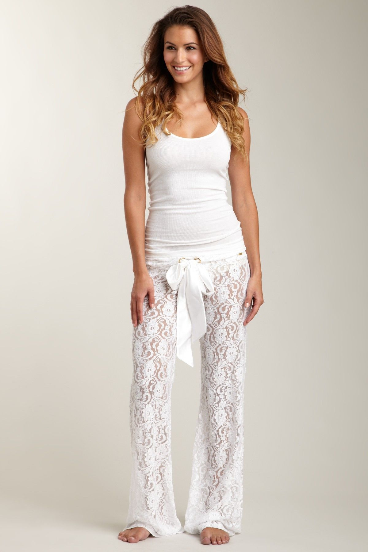 fbb78c65b7415 Lace pajama pants. Beautiful comfort :) | Fashion Amazement ...