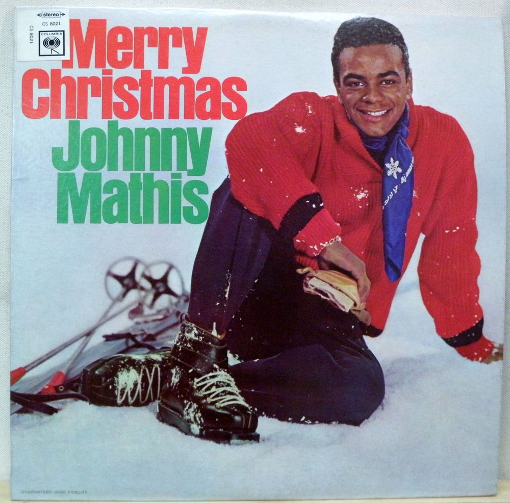 Johnny Mathis - Merry Christmas - 1958 Columbia Stereo LP CS 8021 ...