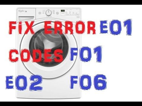 Maytag Washer Error Codes Wiring Schematic Diagram 2