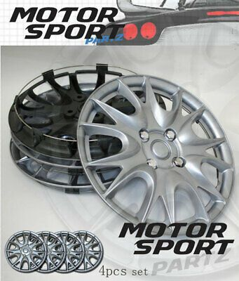 For Chevy New 15 inch Hubcaps Silver Rim Wheel Covers Hub Cap Full Lug Skin 546
