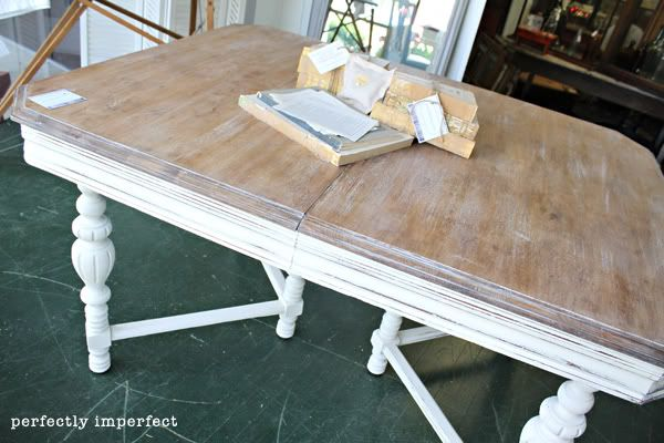 Coastal furniture dining room inspiration white chalk for Dining room tables painted with chalk paint