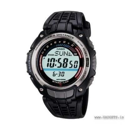 ecd98722c CASIO Pedometer Watch, Counts steps, Calculates Calories burnt SGW-200-1VDR  -