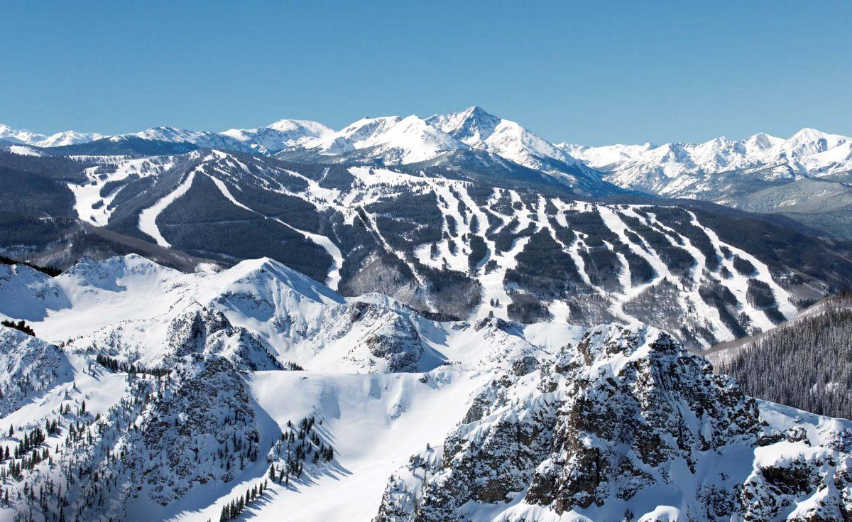 the best ski resorts from around the world | hc travel | pinterest