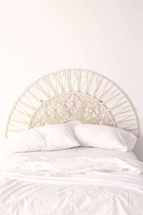 10 ideas para hacer un cabecero de cama femenino. | Pinterest ...