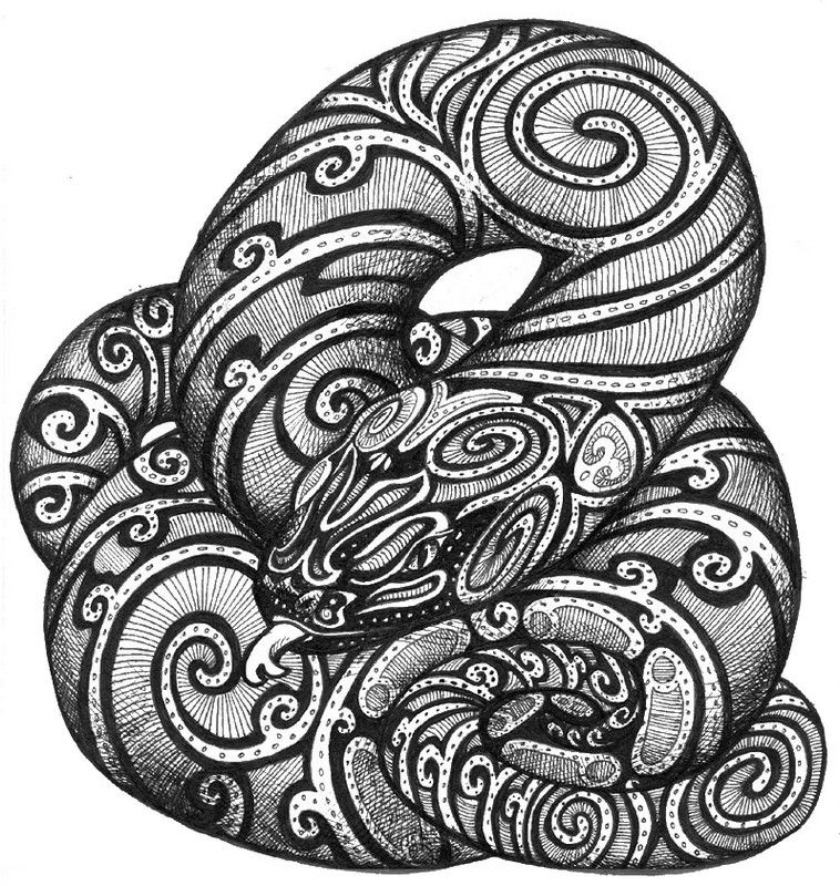 Pin by Sami on Paper Art Snake coloring pages Adult