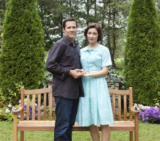 Edge Of The Garden Hallmark 2011 Tv Movie Drama Starring Rob Estes As Brian And Sarah Manninen As Nora Gets A Lesson In Love And Loss When He Buys A