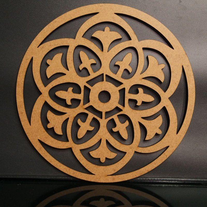 Mandala Mdf Dekorrahmen – Verschiedene Größen   – aplique mdf
