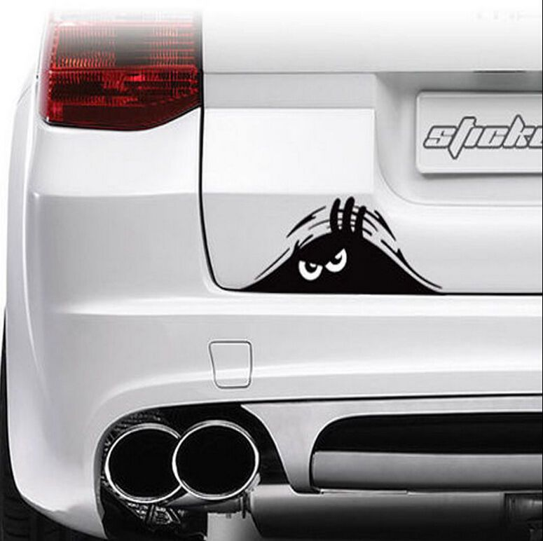 Funny peeking monster auto car walls windows sticker graphic vinyl car decals mx unbrandedgeneric