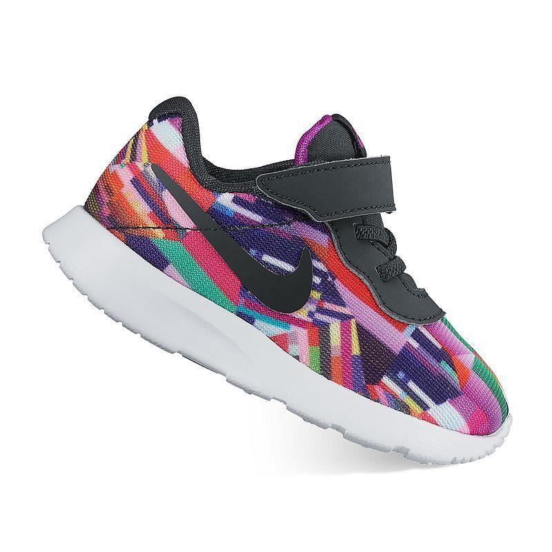 8d7ebf1251 Nike Tanjun Print Toddler Girls' Shoes, Toddler Girl's, Size: 5 T, Purple