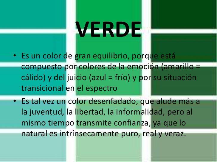 el significado de colores