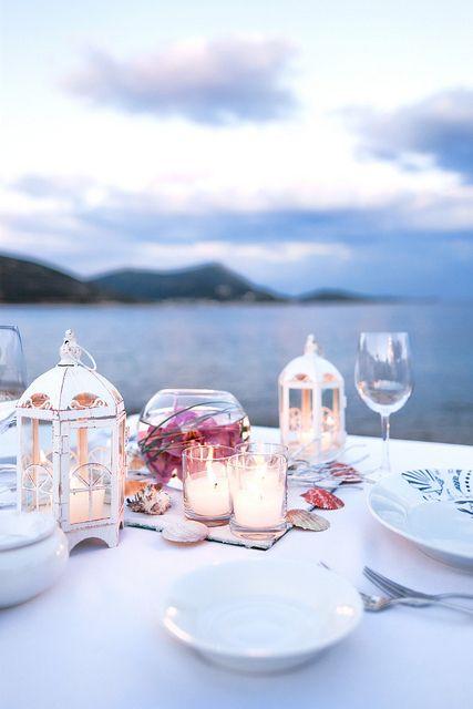 Imagen de candles, decoration, and dinner