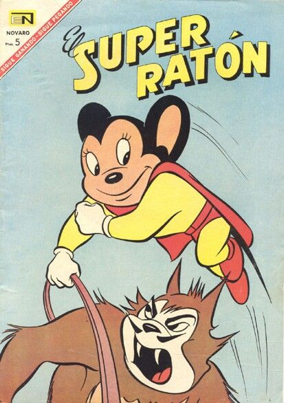 Super Raton Comics Viejos Comics Recuerdos De La Infancia