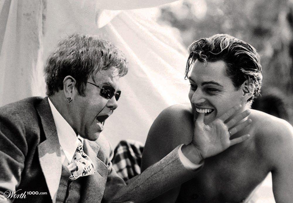 Elton John + Tarzan: Impossible Celebrity Couples  - Worth1000 Contests