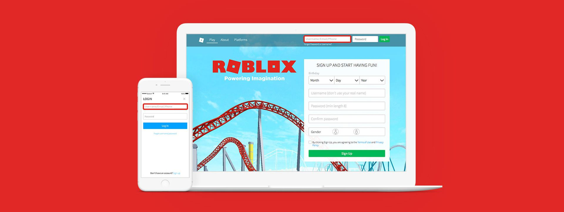 New Ways To Log In To Roblox Roblox Blog Roblox Roblox Roblox Outrageous Ideas