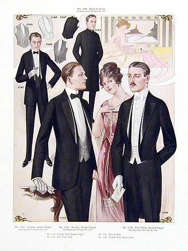 Original Antique 1914 Mens Fashion Poster Prints For Sale Fashion Poster Glamour Fashion Fashion