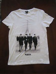 H&M THE BEATLES In Paris 1964 T Shirts NEW with tag Sizes XS