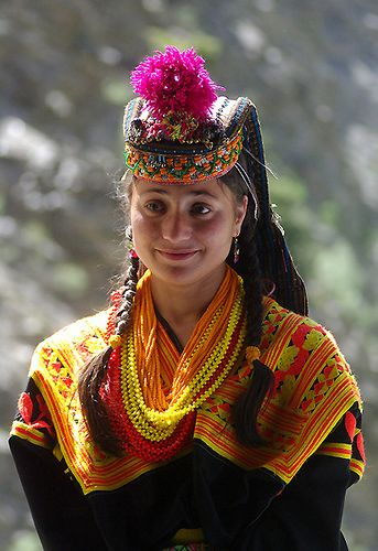 Meeta Gul From Rambur Valley, Kalash  Traditional Folk -2042