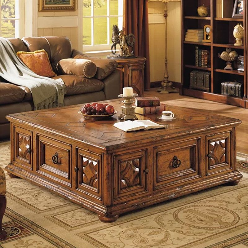 Peachy Wood Coffee Tables Solidly Beautiful Living Room Caraccident5 Cool Chair Designs And Ideas Caraccident5Info