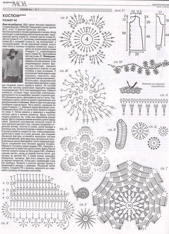 журнал мод вязание картинки со схемами панкейков