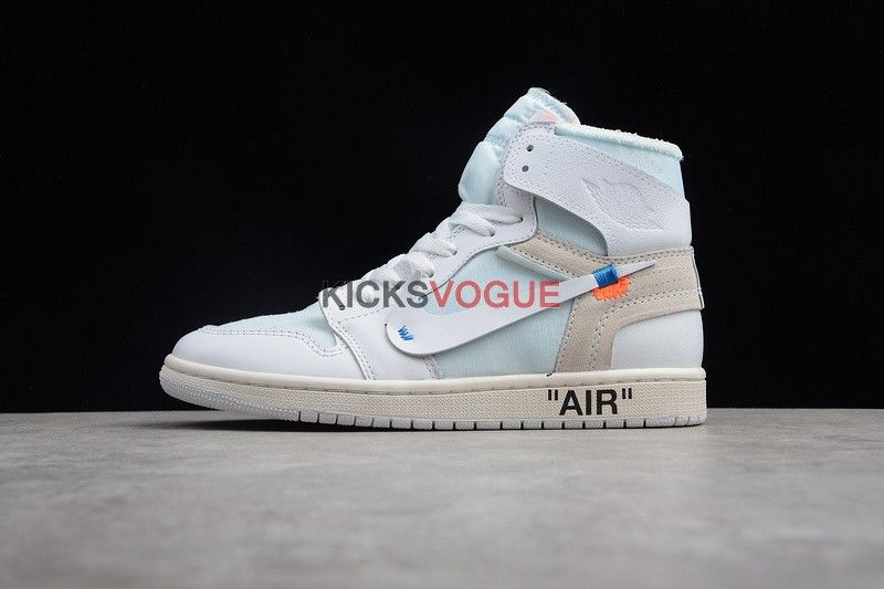 89d979675f9d7 Off-White x Air Jordan 1 White AQ0818-100 - Off-White x Nike - Nike ...