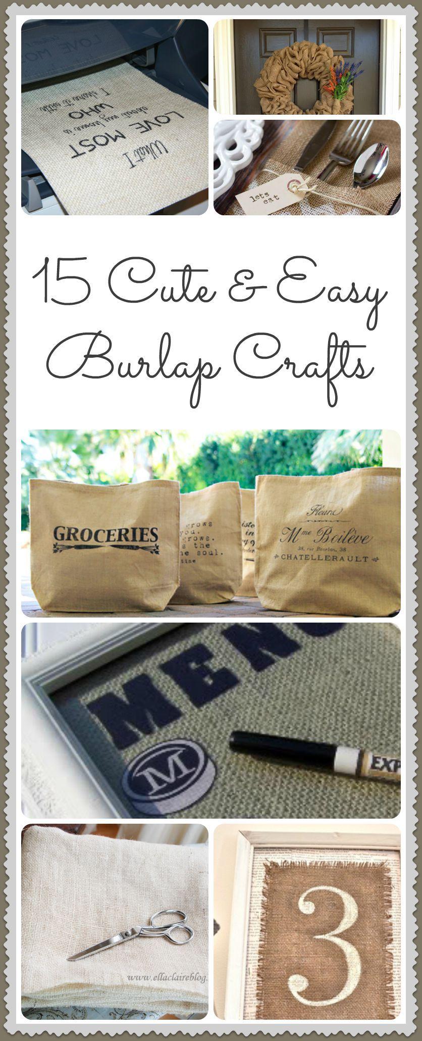 15 diy burlap crafts ideas burlap crafts burlap