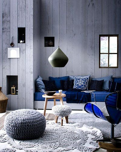 25 Blue Rooms Gray Interiors Blue Living Room Blue Rooms