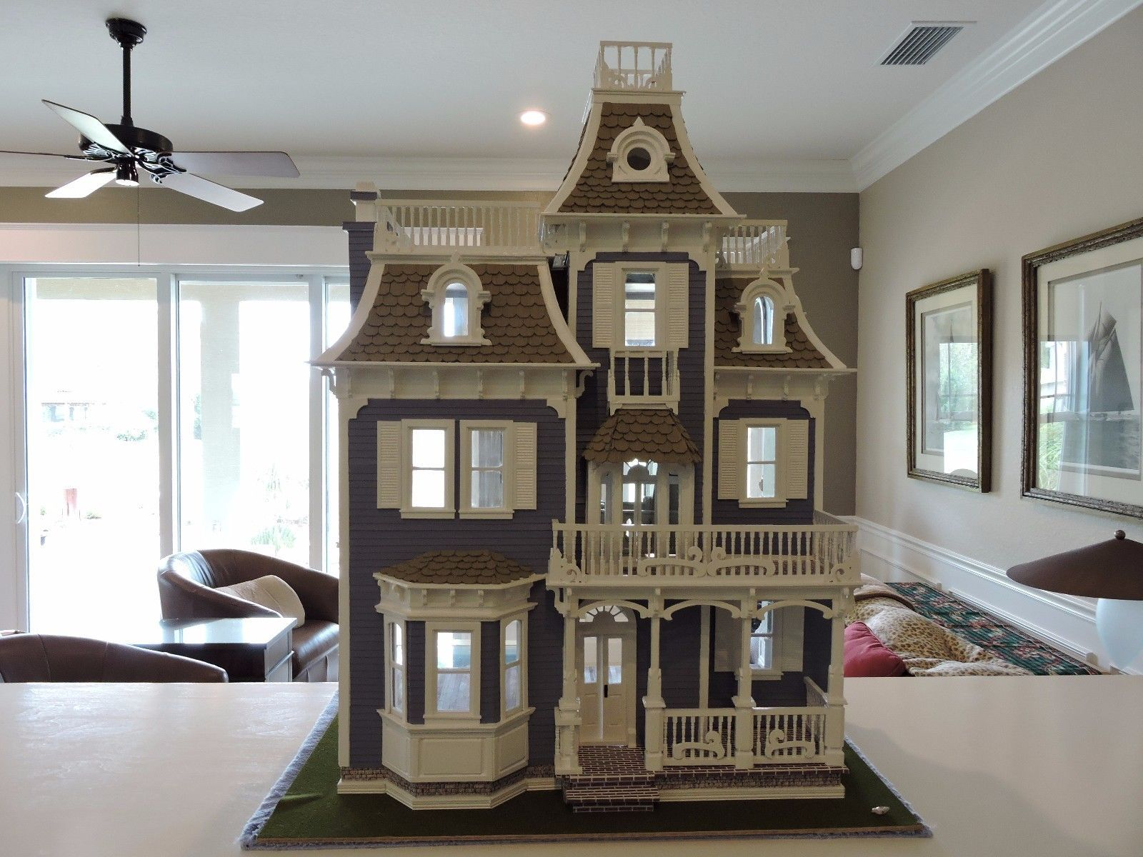 Dollhouse By Greenleaf The Beacon Hill Modified Custom
