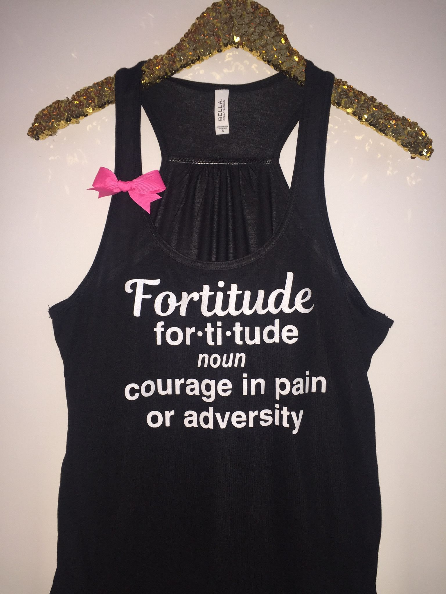 Fortitude One Tree Hill Ruffles With Love Racerback