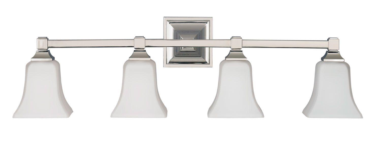 Four Light Vanity Fixture   Bathroom Ideas   Pinterest   Vanities ...