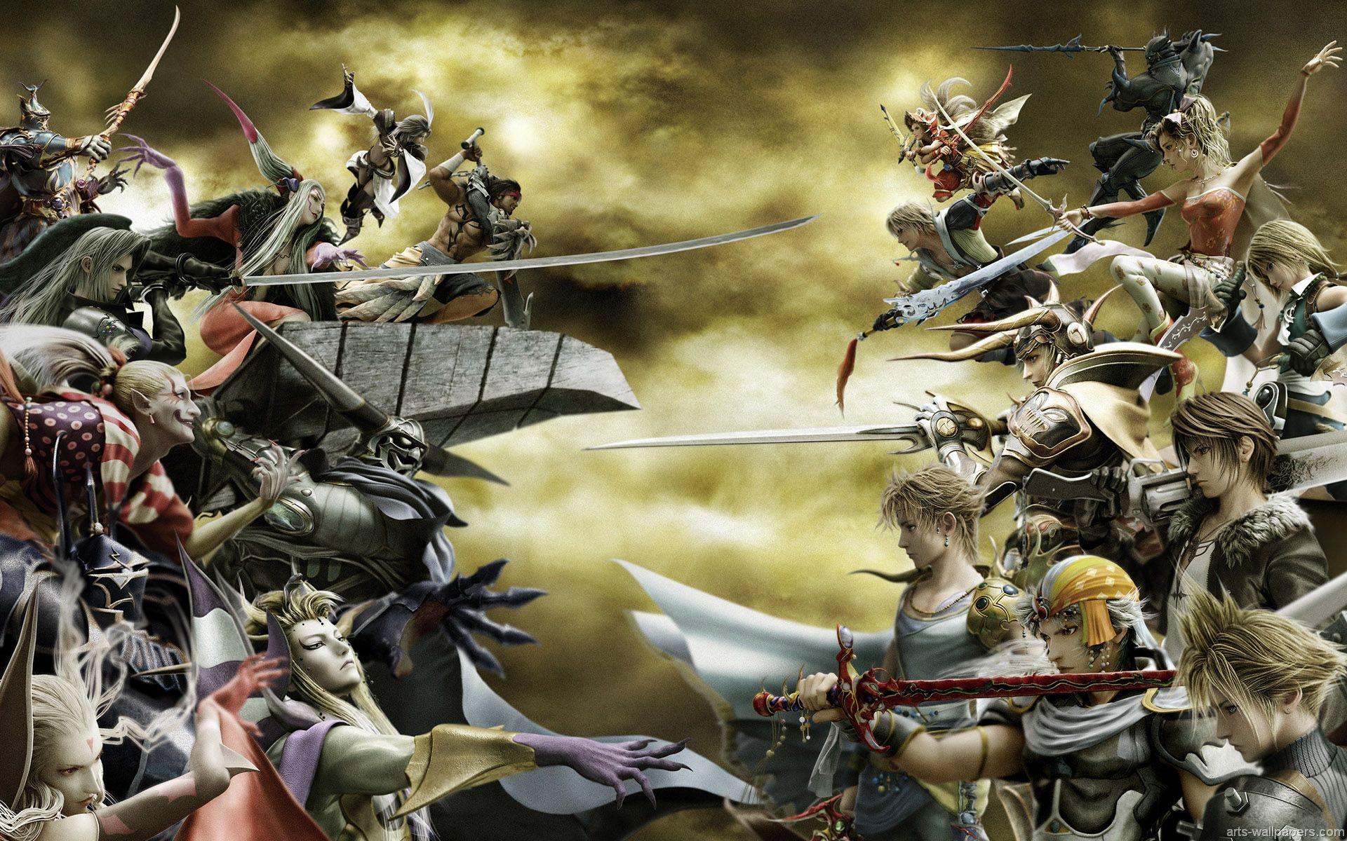 fantasy wallpaper and backgrounds | Final Fantasy Prints Art Wall a ...