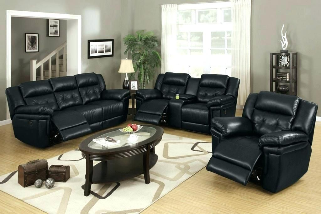 How To Decorate Your Home Using Small Leather Recliners Leather Couches Living Room Black Furniture Living Room Black Living Room Set