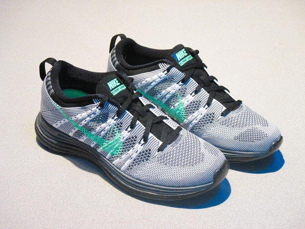 Nike RUNNING FLYKNIT LUNAR 1 8.5 Mujer RUNNING Nike zapatos Talla 8.5 1 gris 91600c