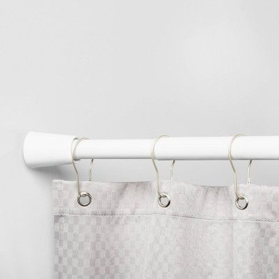 72 Rust Resistant Shower Curtain Rod White Made By Design