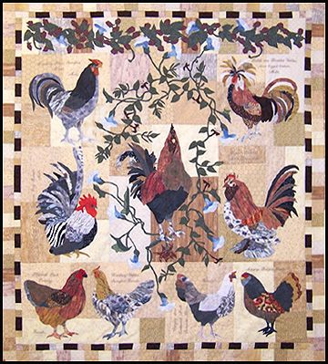 rooster quilt - Google Search | Craft - Quilting | Pinterest ... : rooster quilt pattern - Adamdwight.com