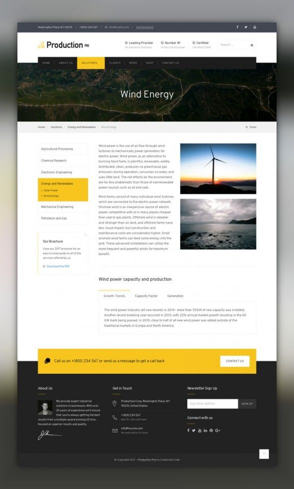Production Pro WordPress Theme CMS & Blog Templates, WordPress ...