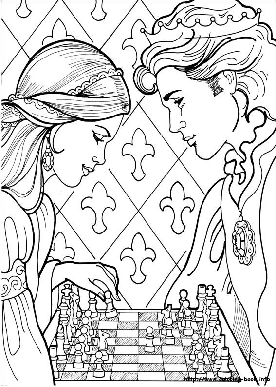Princess Leonora coloring picture | Cool printables | Pinterest ...