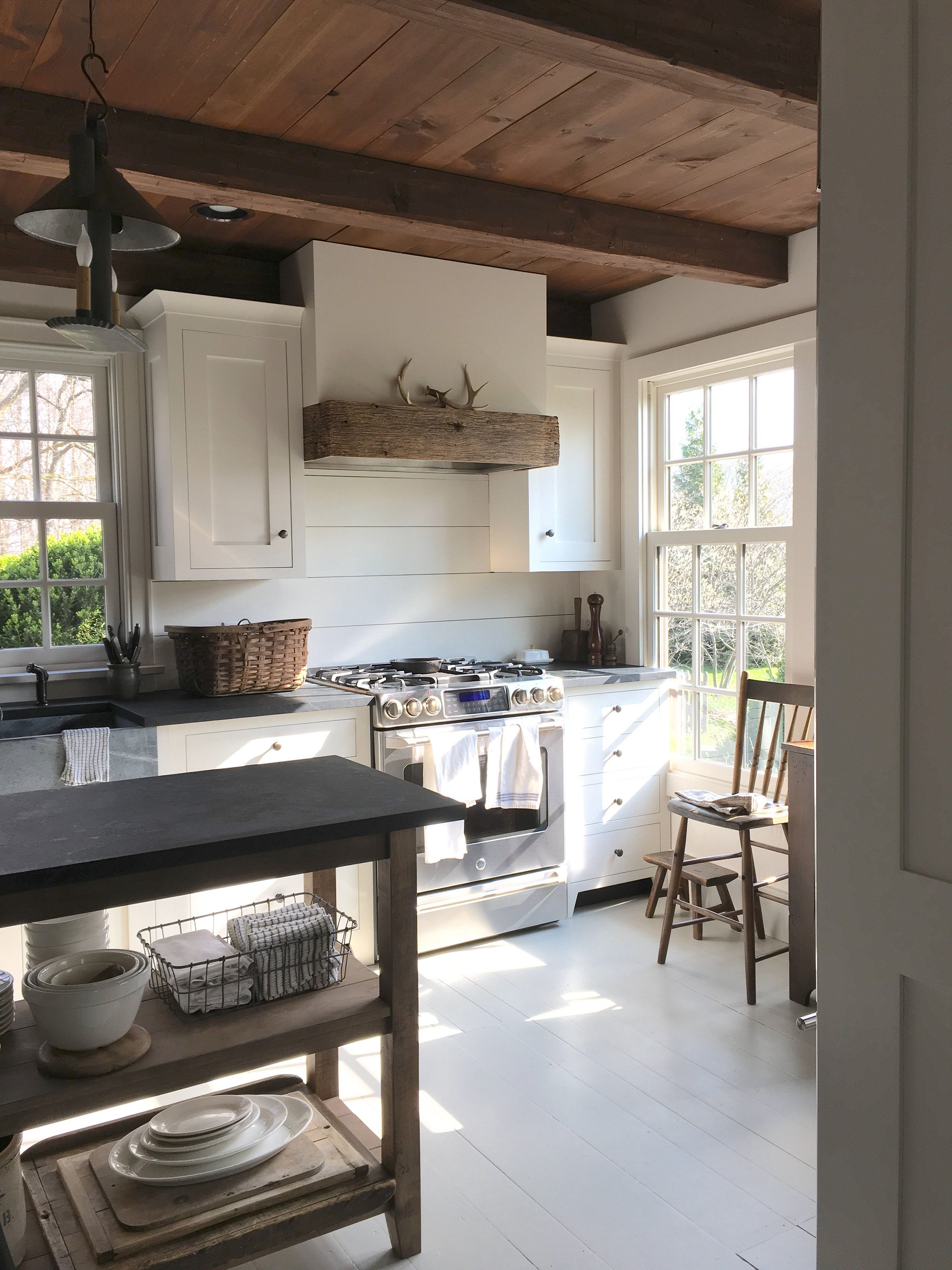 rustic wooden ceiling design ideas for your house decomg also amazingly austere american farmhouse by phoebe troyer no rh pinterest