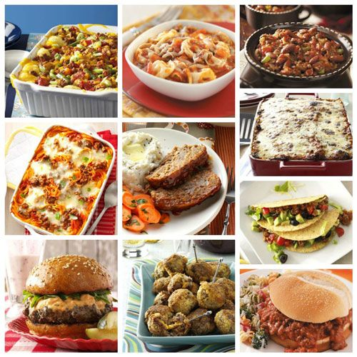 80 Super Easy Ground Beef Dinners