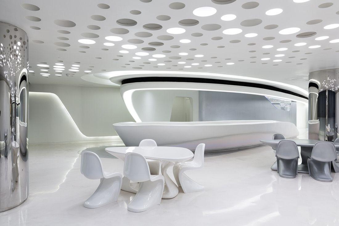 organic interior or exhibition design inspiration - organisch