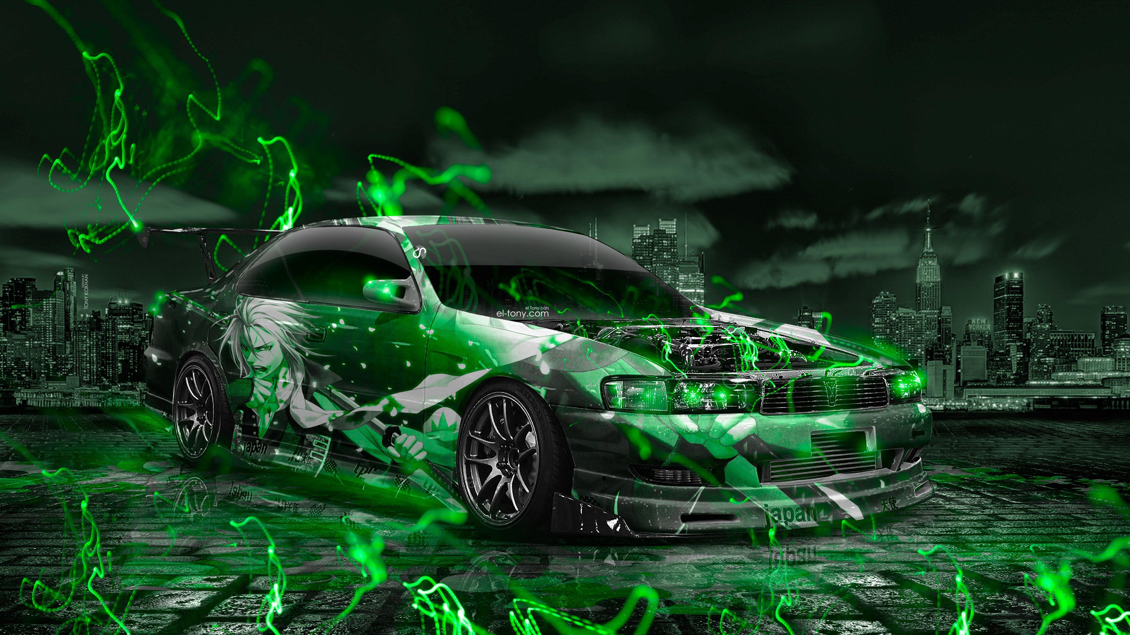 Toyota Supra JDM Crystal Nature Autumn Car 2014 Design By Tony Kokhan [www.el Tony.com]  | El Tony.com | Pinterest | Toyota Supra, Jdm And Toyota