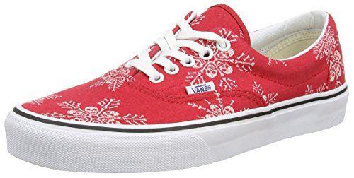 Vans Unisex Era Van Doren Skate ShoeSkull SnowflakeRacing Red11Women95Men >>> Click image for more details.