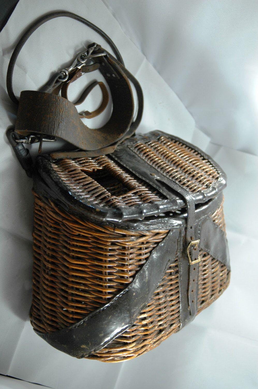 Vintage Fishing Creels