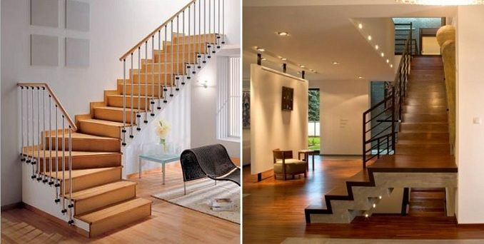 Staircase parts, Staircase tread, Staircase riser, Landing, Winders,