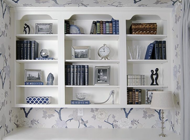 love this little shelving nook = EJ Interiors