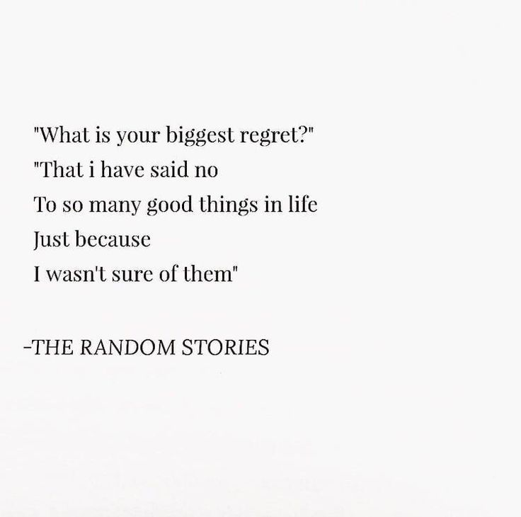 No Regrets Life Quotes Tumblr Life Quotes Words Quotes