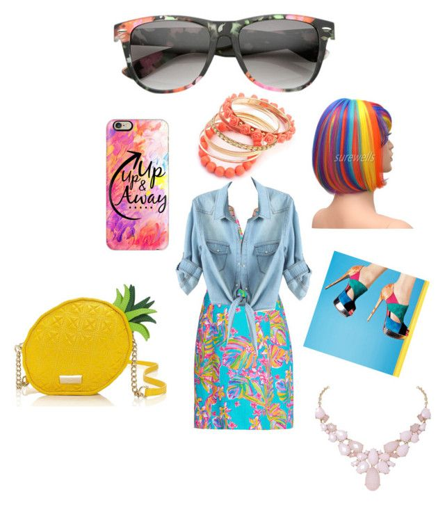 Colorful by maddie-taylor-3 on Polyvore featuring Lilly Pulitzer, Kate Spade, Humble Chic and Casetify