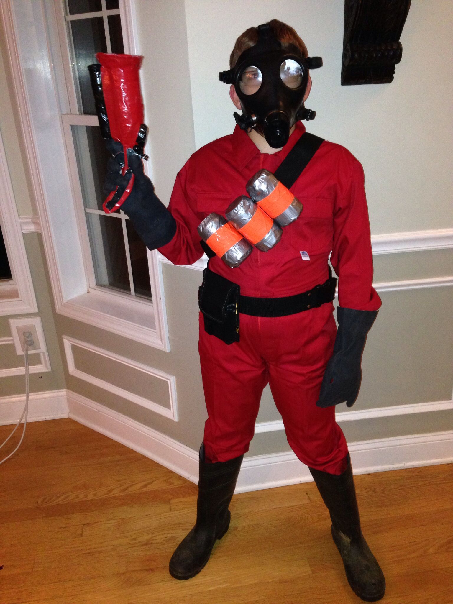 Tf2 pyro Halloween costume for comic con 2013 NYC. | Tf2 pyro ...