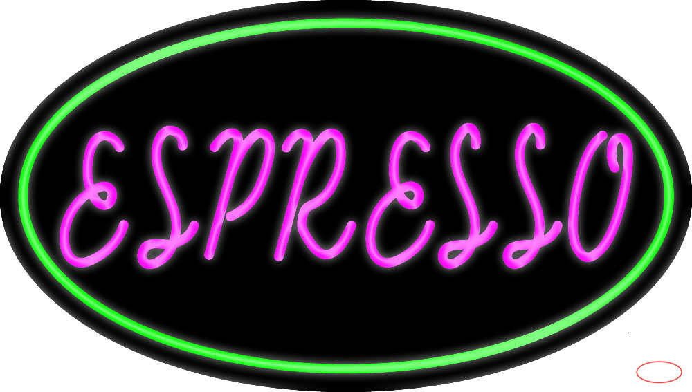 Pink Espresso Real Neon Glass Tube Neon Sign,Affordable
