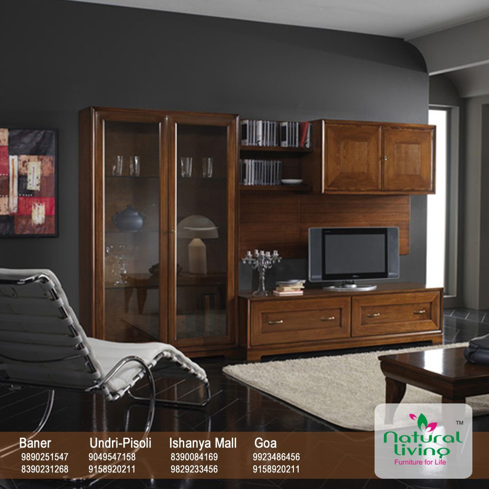 TV Unit Sets Are In The Trend. Itu0027s A Bit Boring To Hang The TV On The Wall  Like That !