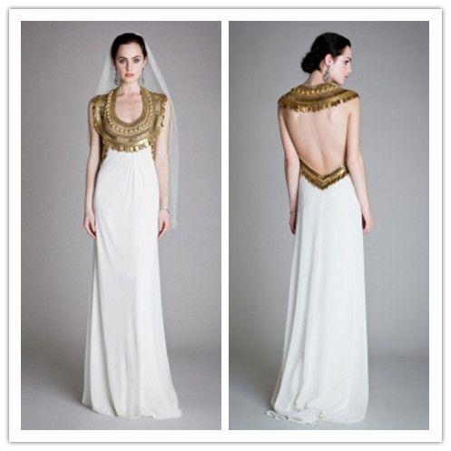 Jean By Temperley Temperley London Goddess Size 12 2995 To Order Sample Sale 1000 Dresses Goddess Dress Egyptian Wedding Dress